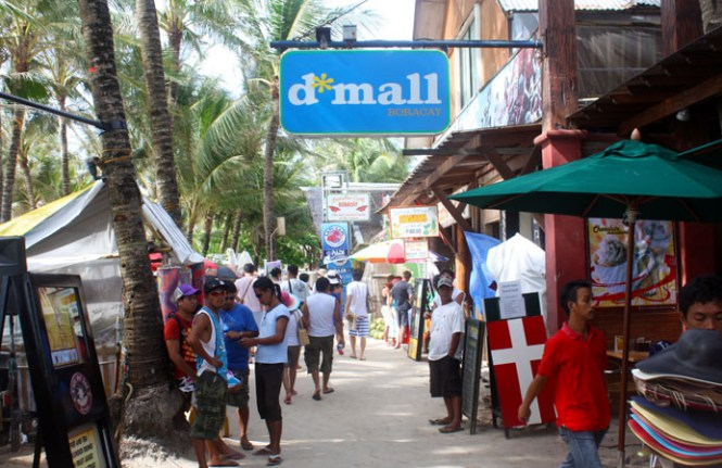 Boracay honeymoon dmall