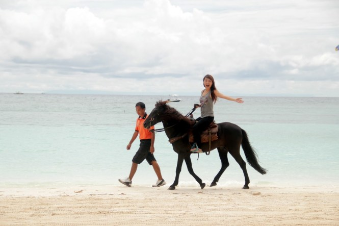 Boracay honeymoon fairways horseriding