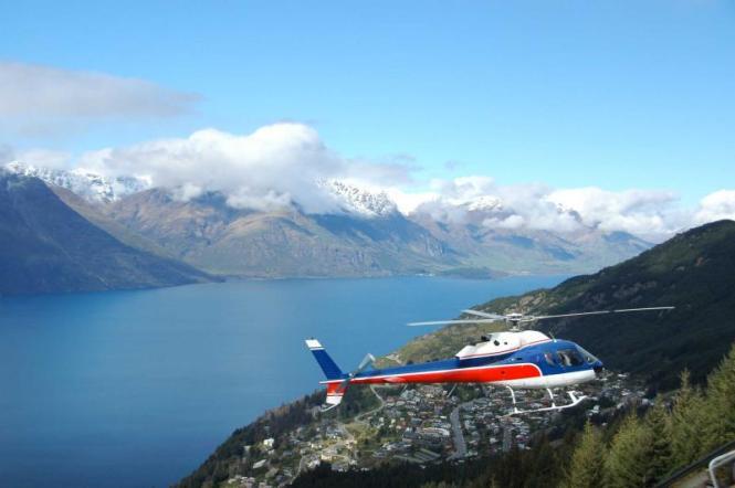New Zealand Honeymoon Helicopter Ride