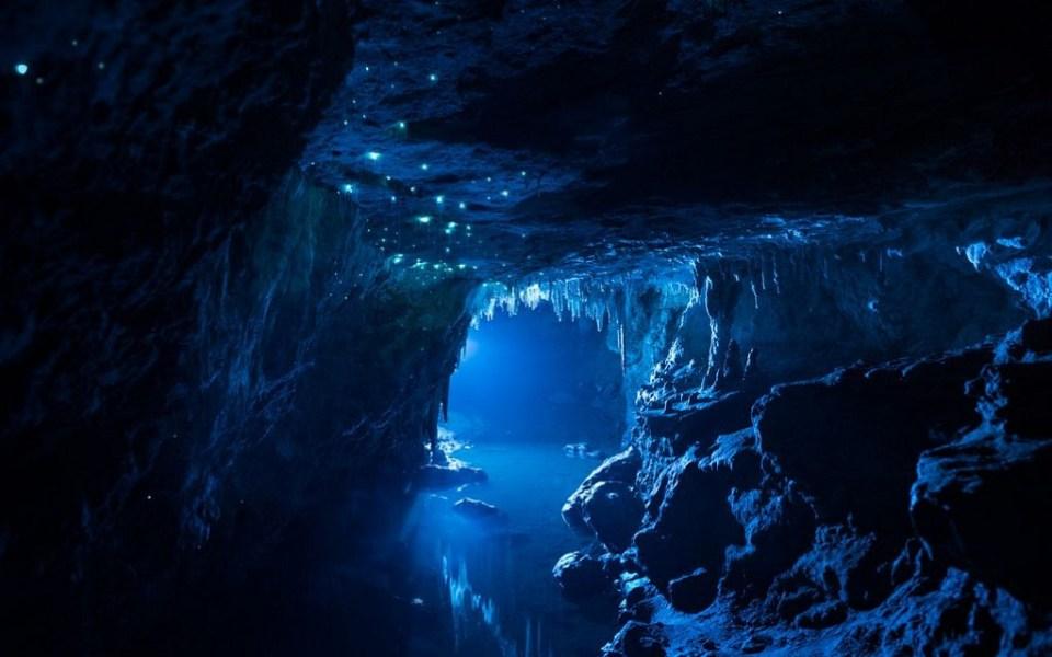 New Zealand Honeymoon Waitomo Caves