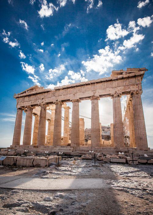 Athens Honeymoon The Parthenon