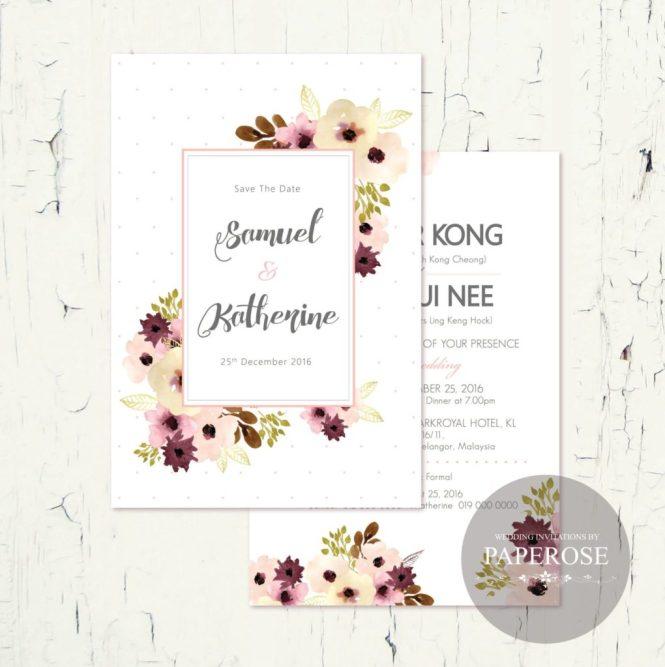 paperrose-invitation-card