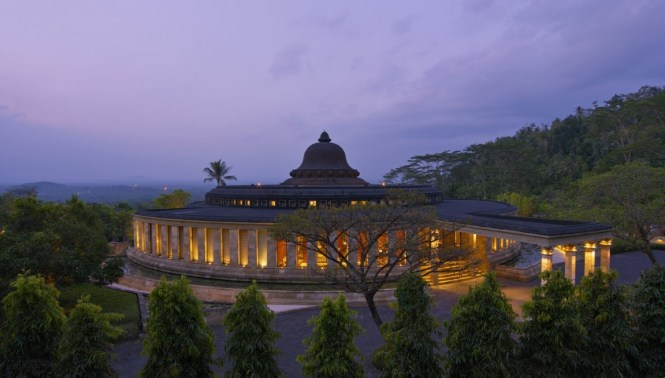 honeymoon destinations indonesia - amanjiwo - aman