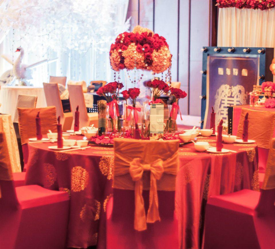Chinese Wedding Setup