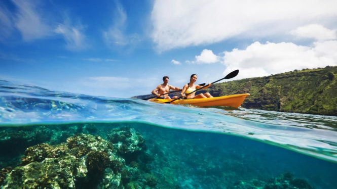 New Caledonia Honeymoon - Kayaking in world's largets lagoon 2 - New Caledonia Travel