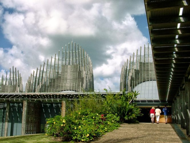 New Caledonia Honeymoon - Tjibaou Cultural Centre - Inhabitat