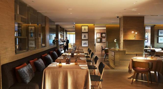 Main Dining Hall in Tosca Restaurant