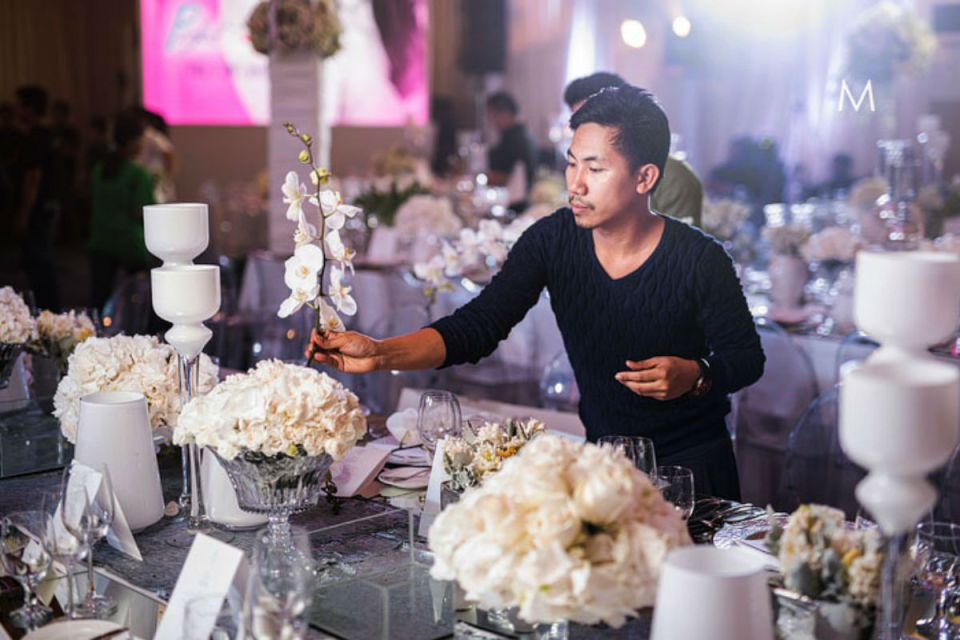 wedding florists Philippines - Gideon Hermosa