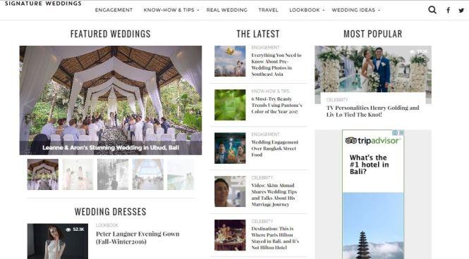 WeddingMalaysiaWeddingWebsites - signaturewedding