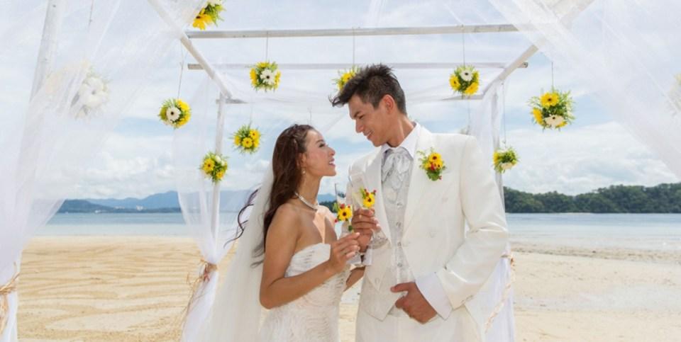beach wedding venues malaysia - Gaya Island Resort