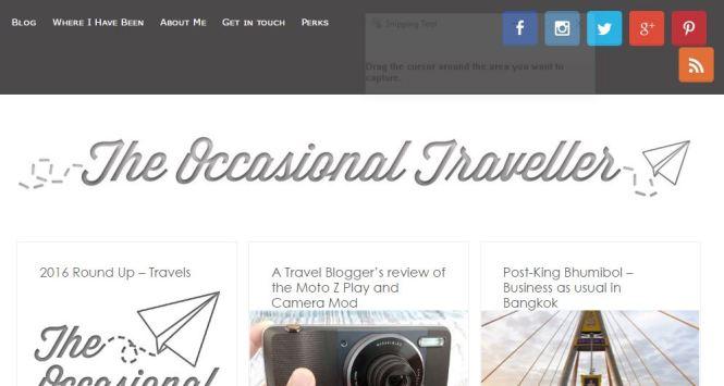 travel blogs singapore - the occasional traveler