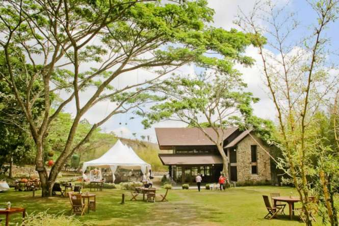 Unique Wedding Venues - Angelfields Nature Sanctuary - Tagaytay Wedding Cafe