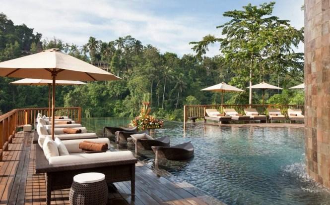 honeymoon destinations indonesia - Hanging Gardens of Bali