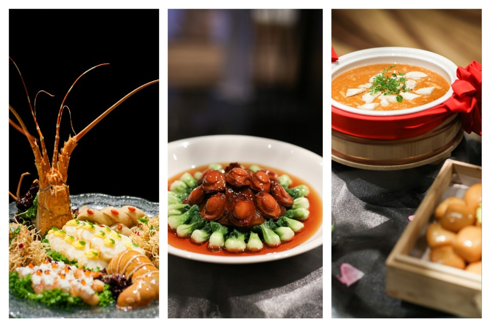 Mandarin Oriental Wedding Menu