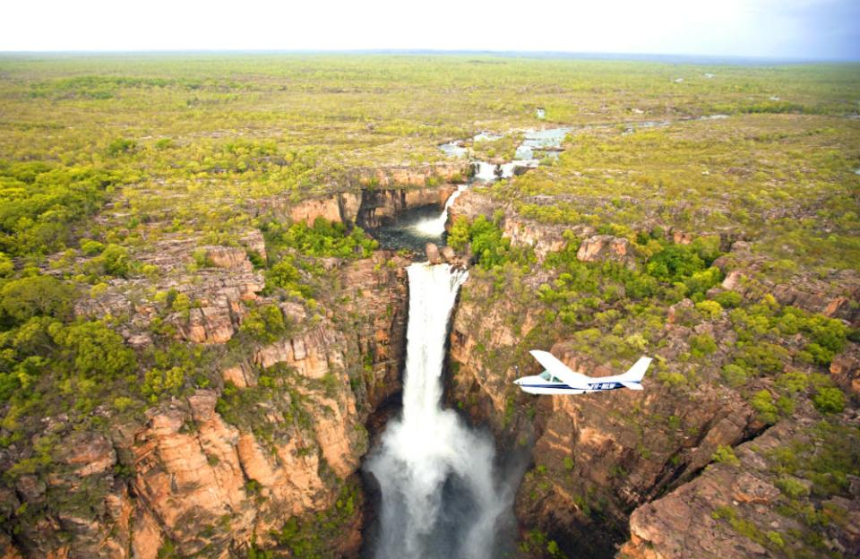 Australia Honeymoon Darwin Kakadu Falls Flight