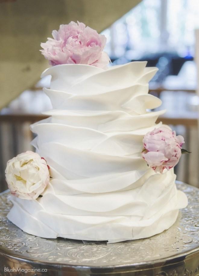 peony petal cake