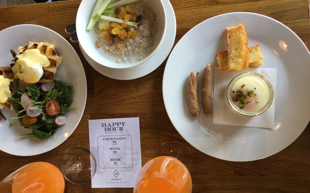 District Cafe: Bigger, Better and Brunchier