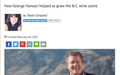 A Tribute to George Hanson of the Similkameen Valley