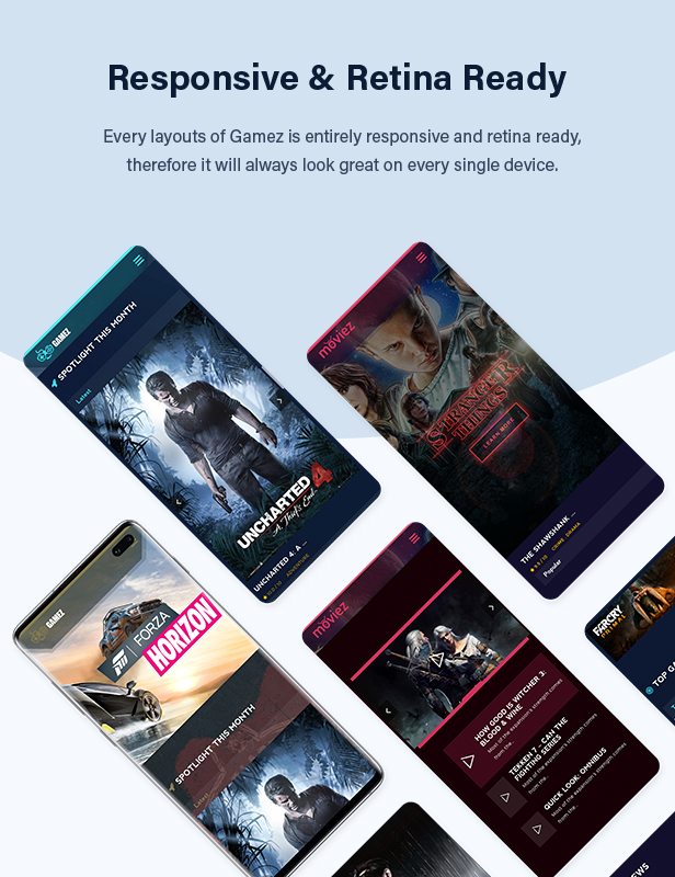 Best WordPress Review Theme For Games, Movies And Music - Gamez - 10