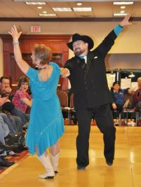 2012.03 Texas Hoedown - Donna and Tony - Couples Waltz