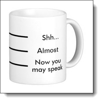 This straightforward design is available on dozens of mugs in different styles and colors