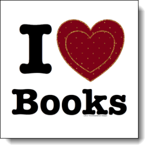 I love Books / I ♥ Books! — Double Red Velvet