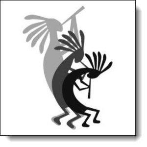 Check out all the Kokopelli artwork from WindyOne Designs
