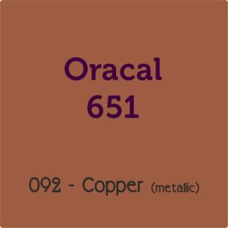 Oracal 651 Vinyl Copper Metallic