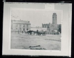 Huntsville Penitentiary Courtyard
