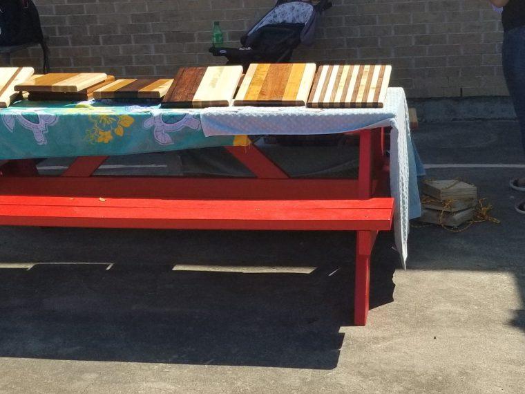 Cutting Boards Vendor Plant Sale 2020