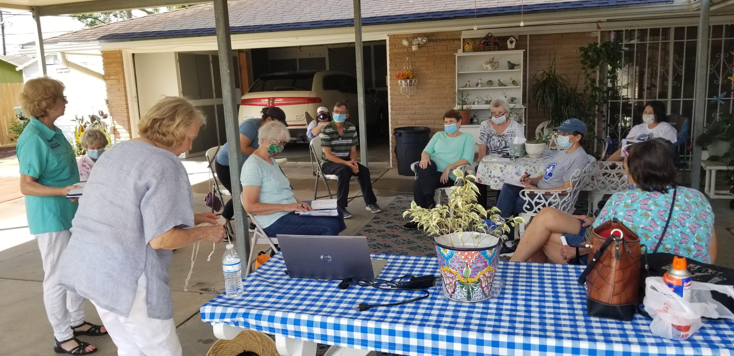 Yard Art Workshop 2020-06-19