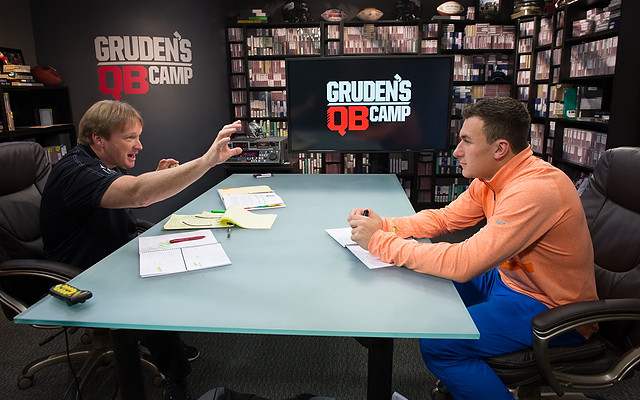 Image result for Gruden qb camp Carr