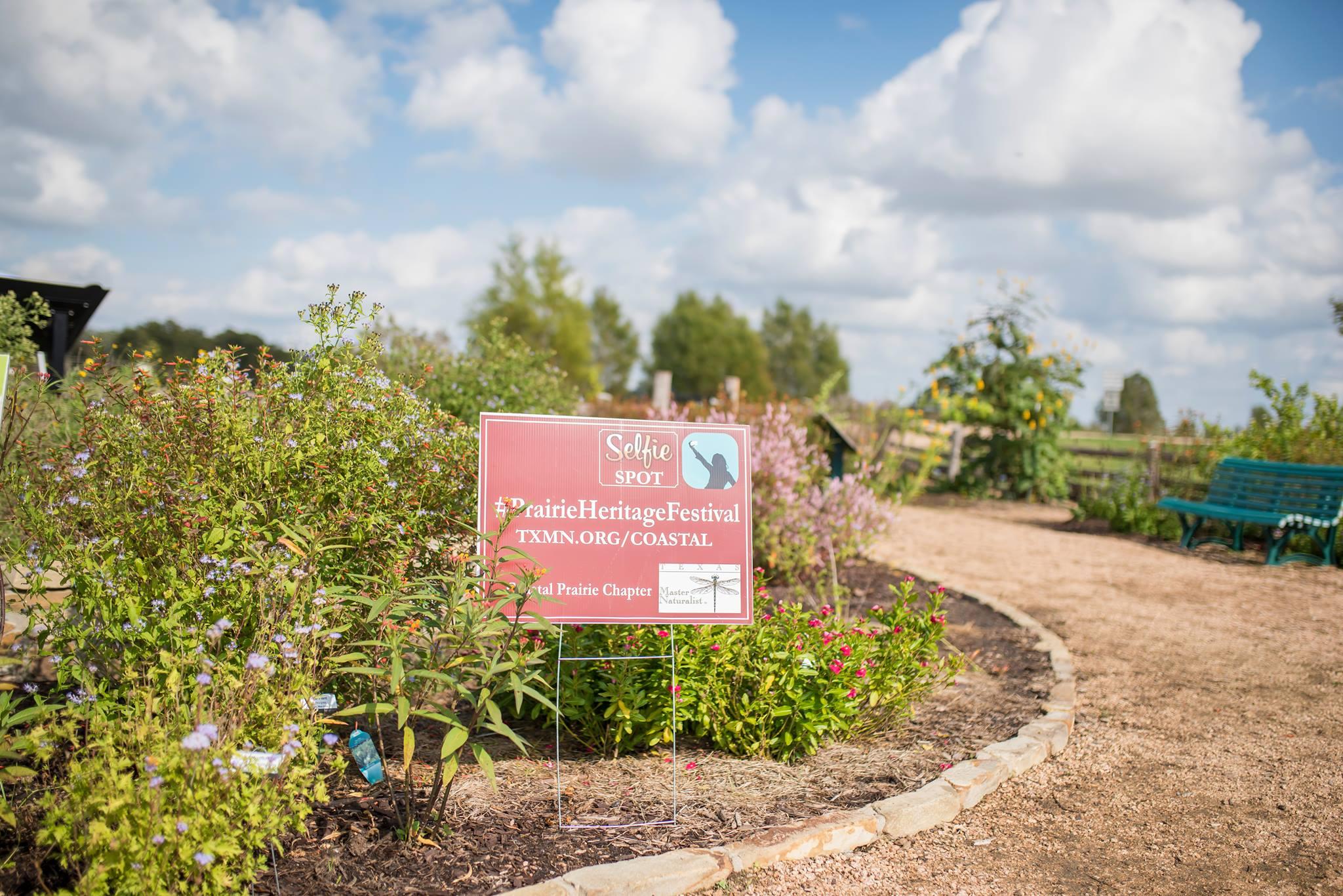 Selfie spot-butterfly garden PHF 2017-RKuykendall