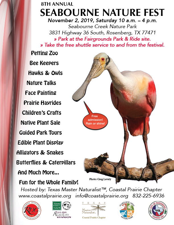 Nature Fest Flyer with Parking Info