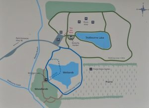 Detailed Map of Seabourne Nature Park