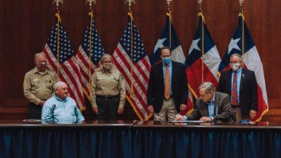Texas, US officials signed Shared Stewardship agreement.
