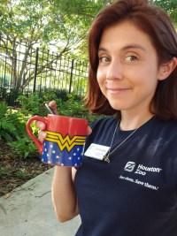 Deandra Ramsey with Houston Zoo
