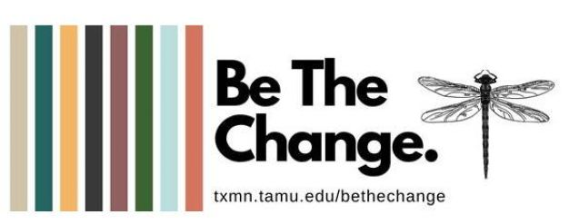 Texas Master Naturalist Be The Change logo