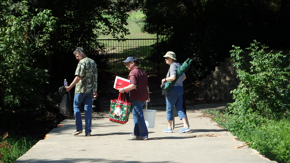Monitoring N San Gabriel at Country Club Road