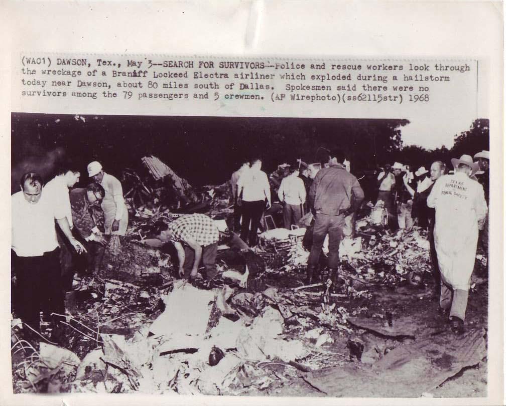 Braniff Airlines Crash 1968