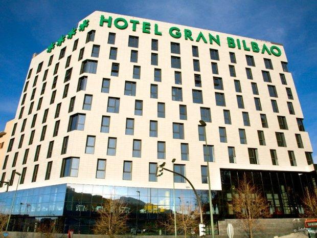 Fachada del Hotel Gran Bilbao