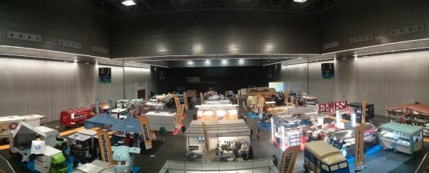 Panorámica del Pabellón 2 del BEC durante el Food Truck Forum!