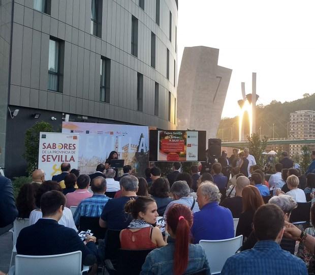 Presentación Tapeo por Sevilla en Bilbao