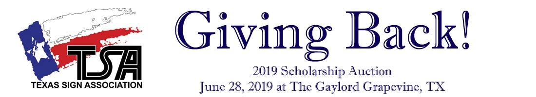 Scholarship Auction