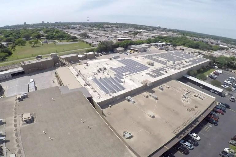 San Antonio's Largest Private Commercial Solar Array