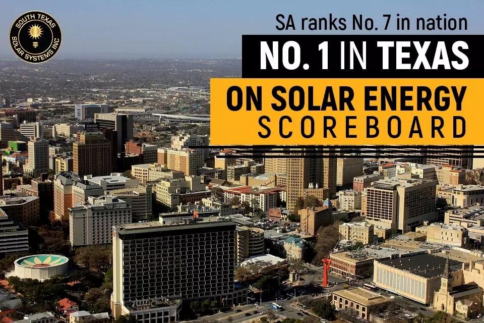 Texas is on top for solar energy capacity | South Texas