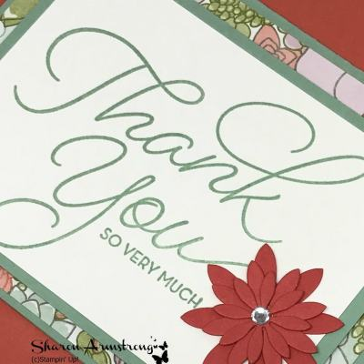Thank You Stampin' Up! 2017 Saleabration
