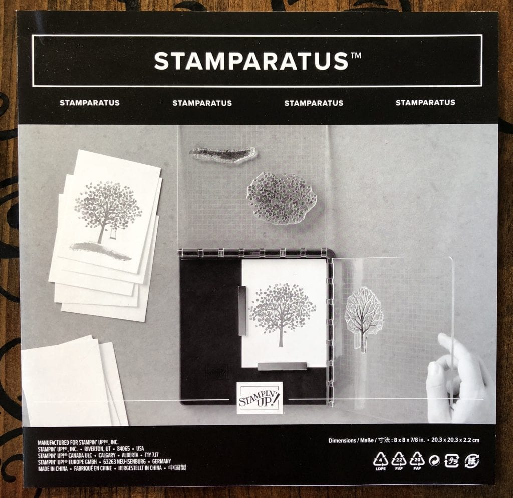 Five Things To Know About Stamparatus TX Stampin Sharon