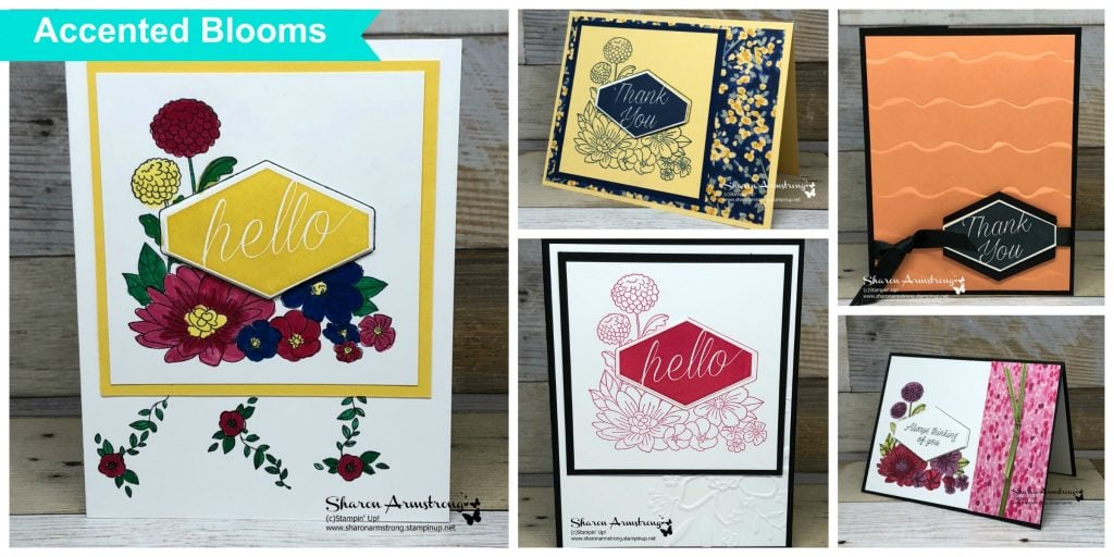 Accented Blooms Online Card Class
