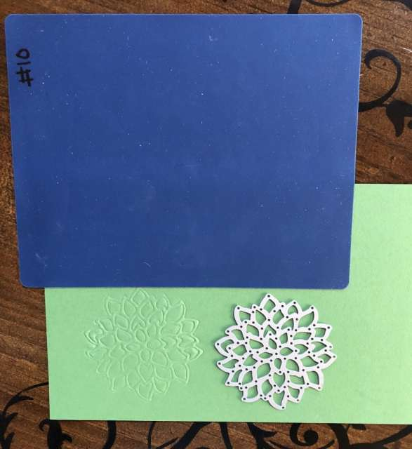 New embossing mat tutorial by Sharon Armstrong